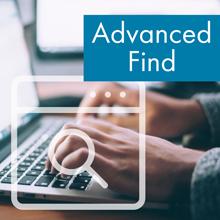 advanced find